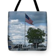 Usa Flag 10 Tote Bag