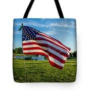 Usa Flag Tote Bag by Phyllis Bradd