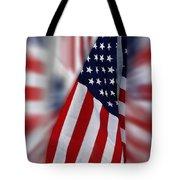 Usa Flags 03 Tote Bag
