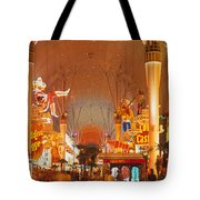 Usa, Nevada, Las Vegas, Night Tote Bag