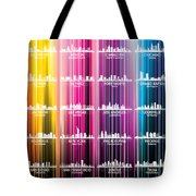 Usa Skylines 2 Tote Bag