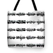 Usa Skylines 4 Tote Bag