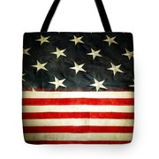 Usa Stars And Stripes Tote Bag by Les Cunliffe