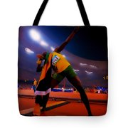 Usain Bolt Number One Tote Bag