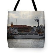 Uscg At Rest Tote Bag