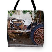 Used Tractor Tote Bag