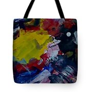 Using The Moon Tote Bag