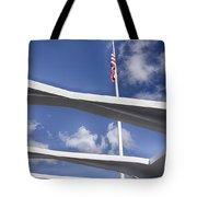 Uss Arizona Memorial Tote Bag