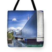 Uss Arizona Memorial- Pearl Harbor Tote Bag