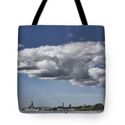 Uss Arizona Memorial-pearl Harbor V2 Tote Bag