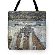 Uss Arizona Memorial-pearl Harbor V4 Tote Bag