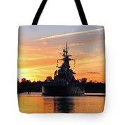 Uss Battleship Tote Bag