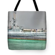 Uss Bowfin Ss-287 2 Tote Bag