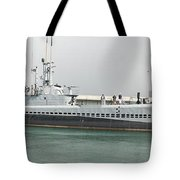 Uss Bowfin Ss-287 Tote Bag