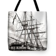 Uss Constellation Tote Bag