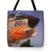 Uss Forrestal Vought Corsair Tote Bag
