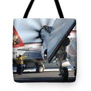 Uss George H.w. Bush Tote Bag