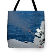 Uss Harry S. Truman Tests The Close-in Tote Bag