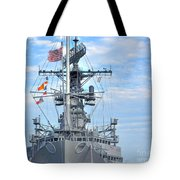 U.s.s. Little Rock Tote Bag