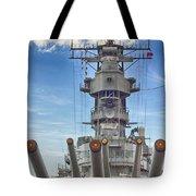 Uss Missouri-pearl Harbor Hawaii Tote Bag