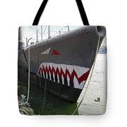 Uss Torsk Ss-423 Tote Bag