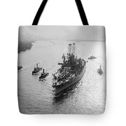 Uss Wyoming, C1912 Tote Bag