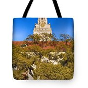 Ut Tower Tote Bag