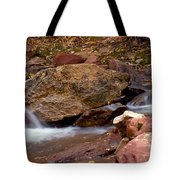 Utah Creek Cascades Tote Bag