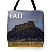 Utah Landscape Factory Butte Tote Bag
