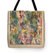 Utah Map Vintage Watercolor Tote Bag