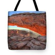 Utah Morning Pastels Tote Bag