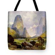 Utah Mountains Tote Bag