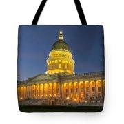 Utah State Capitol Building Tote Bag