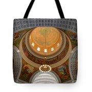 Utah State Capitol Rotunda Interior Archways Tote Bag by Gary Whitton
