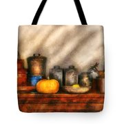 Utensils - Kitchen Still Life Tote Bag by Mike Savad