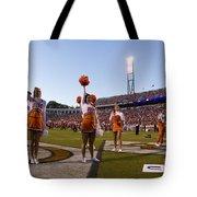 Uva Cheerleaders Tote Bag by Jason O Watson