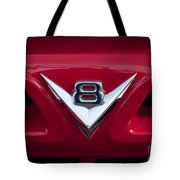 V Eight Red Tote Bag