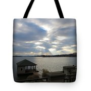 Va March Sunset Tote Bag