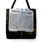 Va-wp13 Justin Holland Tote Bag