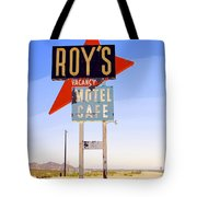 Vacancy Route 66 Tote Bag