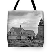 Vacant On The Ocean Tote Bag by Betsy Knapp