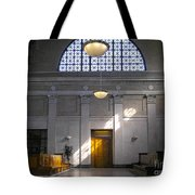 Vacant Railroad Station Tote Bag