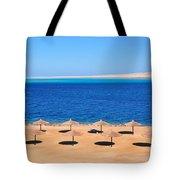 Parasol At Red Sea,egypt Tote Bag