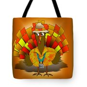 Vacation Turkey Illustration Tote Bag