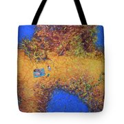 Vacationing On A Painting Tote Bag