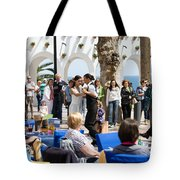 Vacations In Nerja On Costa Del Sol Tote Bag