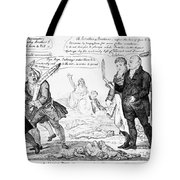 Vaccination Cartoon, 1808 Tote Bag