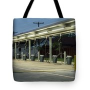 Vacuums At Car Wash Tote Bag