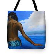 Vahine De Tahiti Tote Bag
