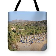 Vai Beach Tote Bag